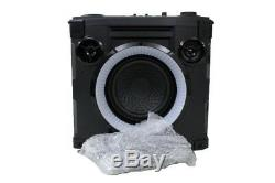 Voxx 808 Hex Encore 50w Party System Wireless Speaker Sp480bk