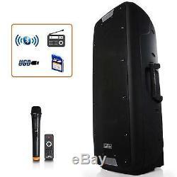 12 Microphone Sans Fil MIC À Distance Système De Haut-parleurs Portables Bluetooth