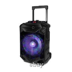 12 Portable Wireless Speaker Party Dj Pa System Wireless Stereo Avec MIC Us