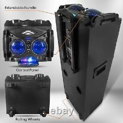 12000w Haut-end Rechargeable Haut-party Bluetooth Haut-parleur Karaoke Machine Profonde Basse