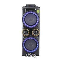 12x2 Pouces Grand Woofer Tweeter Combo Fm Usb Sd Haut-parleur Bluetooth Pour Party