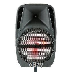 15 Bluetooth Rechargeable 7500w Pa Dj Party Haut-parleur Avec MIC Stand À Distance Lumières