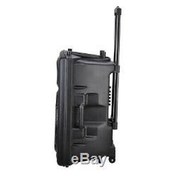 15 Haut-parleur Portable Bluetooth Pa Dj Party Promo MIC Haut-parleur Concert Des Rolling