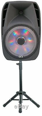 15 Microphone Haut-parleur Sans Fil Haut-parleur Portable Bluetooth Haut-parleur 7500 Watts