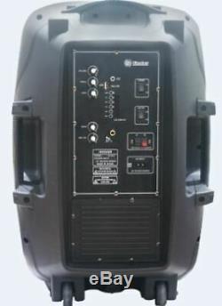 1500w Party Haut-parleurs Équipement Bluetooth Dj Portable Floor Sound System Karaoke