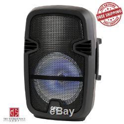 4.400 Watts Portable Haut-parleur Bluetooth Party Avec Microphone Et Télécommande