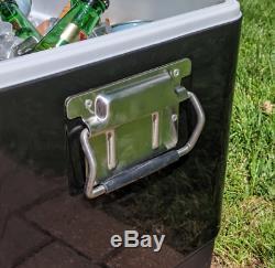54 Pintes Party Brekx Cooler Avec Bluetooth Haut-parleurs Passifs Noir