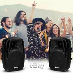 Accueil Party 10 1600w Haut-parleurs Protable Avec Powered Bluetooth MIC Supports Pour Haut