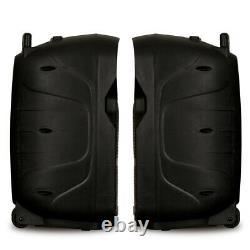 Acoustique Audio Rechargeable 12 Haut-parleur Bluetooth Avec Lumières Et Micro Sans Fil