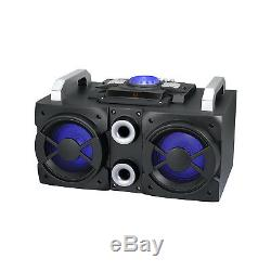 Akai 200 W Ultimate Party Speaker Avec Caisson De Grave Encastré À Base Lourde A50000