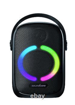 Anker Soundcore Rave Neo Haut-parleur Bluetooth Portable Avec Lumières, Bassup Te