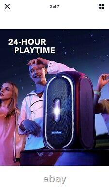 Anker Soundcore Rave Party Portable Speaker Avec 107db Sound, Light Show, 160w