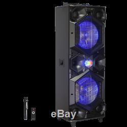 Atalax Icon Super Bass Party Parleur Sans Fil Avec Microphone