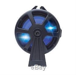 Bazooka 24 Barre De Fête Bluetooth 450w Haut-parleur Rvb Led Bateau Marine À Distance Utv Atv