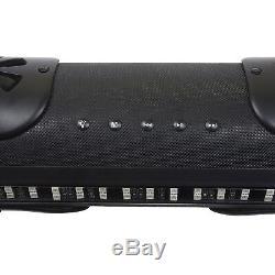 Bazooka 24 Barre Dégrossie Bluetooth Led De Parti, 4 Haut-parleurs Marins De 4,7 6,75 300w
