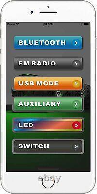 Bazooka Bpb24-g2 Bar Party 24 Powered Bluetooth Barre De Son 8 Haut-parleurs Avec Led