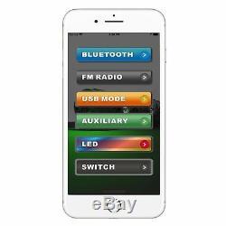 Bazooka Bpb24-g2 De 24 Pouces Bluetooth G2 Bar Avec Le Système Party Éclairage À Led