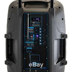 Befree Bfs-15 Bluetooth Hayon 6100 Pa Dj Party Speaker Lumières À Distance MIC