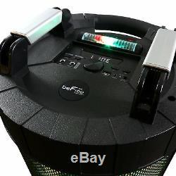 Befree Bluetooth Portable Dj Party Avec Haut-parleur 360 Degrés Feux Sound 2 Mics