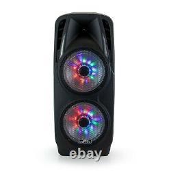 Befree Dual 10 2000 Watt Subwoofer Portable Bluetooth Party Pa Dj Speaker MIC