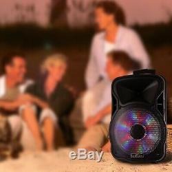 Befree Son 12 Pouces 2500 Watt Bluetooth Rechargeable Parti Pa Haut-parleur Portable