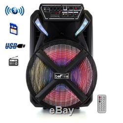 Befree Son Bfs-2115 15 Pouces Bluetooth Portable Rechargeable Party Président