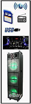 Befree Son Bfs-6700 Enceinte De Sonorisation Avec 3 10 Subwoofers, Lumières Bluetooth & Party