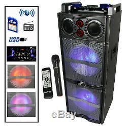 Befree Son Double 10 Pouces Subwoofer Haut-parleur Bluetooth Party Portable Avec Rea