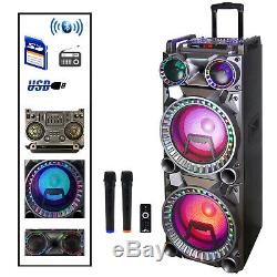 Befree Son Double 700w 10 Pouces Subwoofer Bluetooth Haut-parleur Portable Avec Party