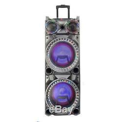 Befree Son Double Caisson De Basses 10 Haut-parleur Portable Party Télécommande MIC Nouveau
