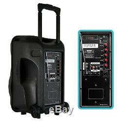 Befree Sound 12 Bluetooth Portable Party Rechargeable Dj Pa Haut-parleur Avec Lumières