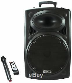 Befree Sound 15 Usb / Télécommande / MIC Haut-parleur Portable Pa Bluetooth Dj 900w