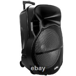 Befree Sound 18 Bluetooth Portable Dj Pa Party Speaker W Lights Usb/sd Fm MIC
