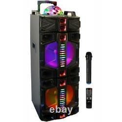 Befree Sound Double 12 Po. Party Bluetooth Caisson De Basses Haut-parleur Portable Avec