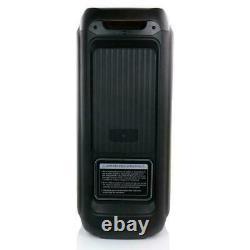 Befree Sound Dual 8 Haut-parleur De Fête Portable /w Bluetooth Wireless Lights Remote