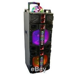 Befree Sound Dual - Partie Portable Bluetooth - Subwoofer 12 Pouces - Noir