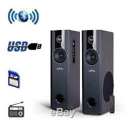 Befree Sound Haut-parleur De Fête Rechargeable Bluetooth De 12 Pouces Avec Illuminatiing