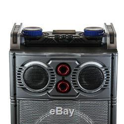 Befree Sound Party Feux Bluetooth Dj Pa Haut-parleur Avec 3 10 Subwoofers Usb / Sd