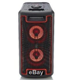 Blackweb 160 Watt Portable Bluetooth Party Enceinte Noir Bwd19aas11