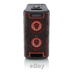 Blackweb Party Bluetooth Grand Haut-parleur Led Effets D'éclairage 160 Watts