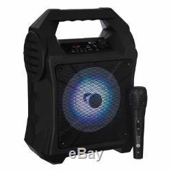 Bluetooth Karaoke Portable Party Lights Mics Led Haut-parleur Mp3 Chansons