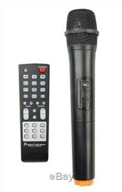 Bluetooth Party Haut-parleur Portable Avec Radio Fm, Télécommande Et Micro Sans Fil Nouveau