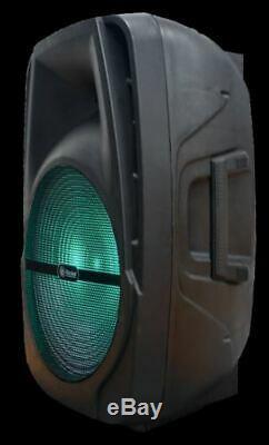 Bluetooth Puissance Fort Parti Président Télécommandé 15 Woofer Multi-fonctions