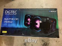 Boom Boom Dgtec Parti Système Haut-parleur Microphone / Aux Bluetooth