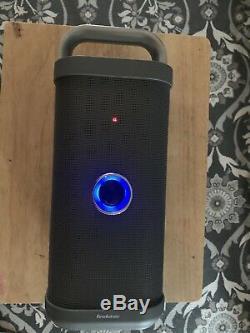 Brookstone Big Blue Party Bluetooth Haut-parleur Argent