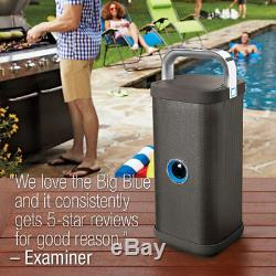 Brookstone Big Blue Party - Cassa Bluetooth Super Potentiel Américain Rarita Top Sans Bose