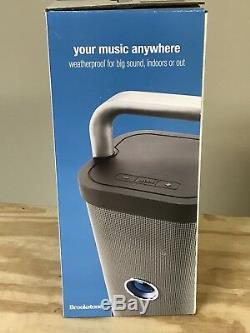 Brookstone Big Blue Party Haut-parleur Bluetooth Intérieur-extérieur, Nouvelle Boîte Ouverte