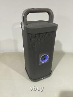 Brookstone Big Blue Party Indoor / Extérieur Bluetooth Haut-parleur Open Box Jamais Utilisé