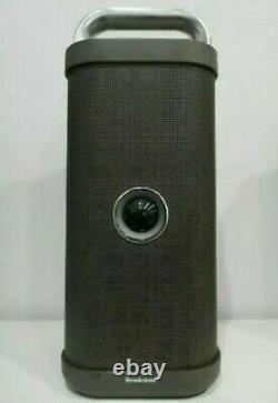 Brookstone Big Blue Party Indoor-outdoor Bluetooth Haut-parleur -rare Mint Condition