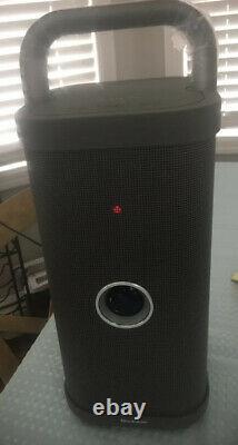 Brookstone Big Blue Party Indoor-outdoor Bluetooth Speaker 72 Watt Output